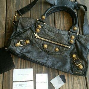 Authentic Balenciaga Giant 21 Mini City Bag
